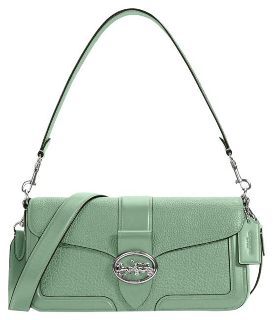 Item - Shoulder 5493 Georgie Women's In Washed Green Leather Cross Body Bag