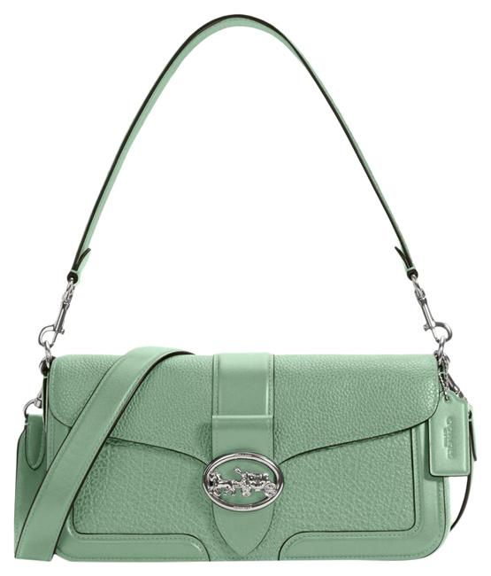 Item - Shoulder 5493 Georgie Women's Washed Green Leather Cross Body Bag