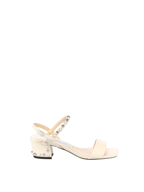 Item - Nude & Neutrals In Lamb Skin Sandals Size EU 39 (Approx. US 9) Regular (M, B)