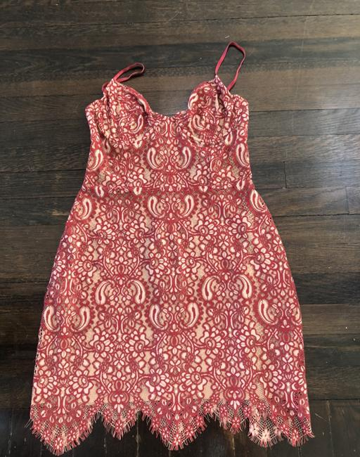 Item - Red No Short Cocktail Dress Size 8 (M)