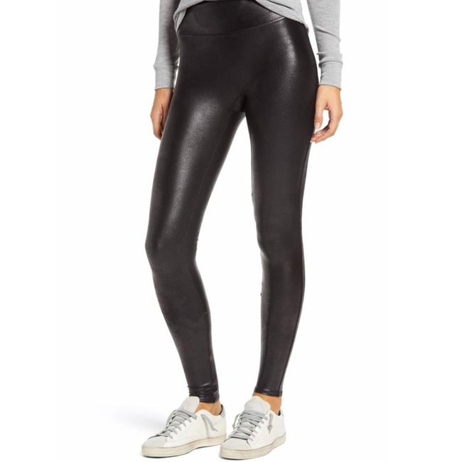 Item - Black Nwot Ready To Wow Faux Leather Activewear Bottoms Size 8 (M, 29, 30)