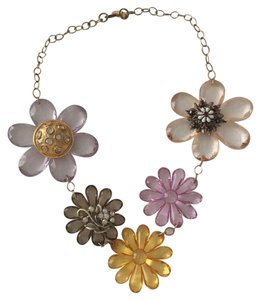 Lenora Dame Flower statement Necklace
