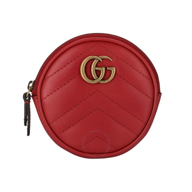 Item - Red Marmont Gg Coin Purse Wallet
