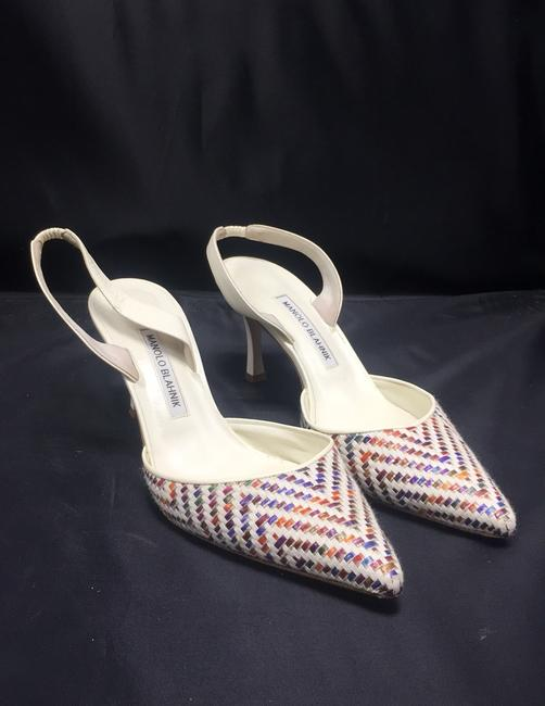Item - Pointy Toe Slingback Pumps Mules/Slides Size EU 40 (Approx. US 10) Regular (M, B)