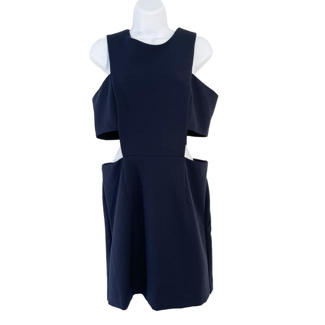 Item - Navy Dark Blue Cut Mini Short Night Out Dress Size 10 (M)