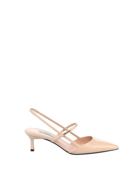 Item - Nude & Neutrals Leather Slingback In Calf Leather Pumps Size EU 37.5 (Approx. US 7.5) Regular (M, B)