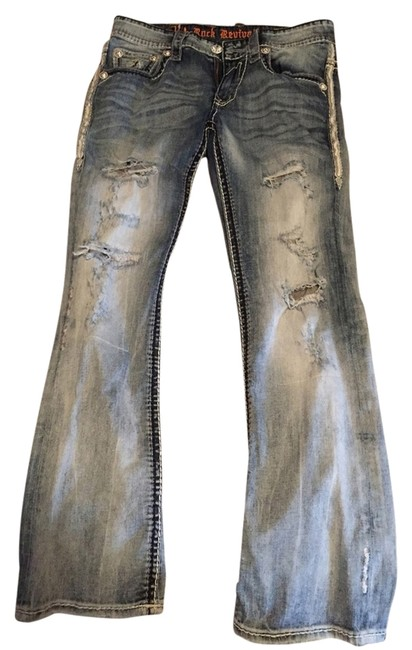 Item - Light Blue Wash Canis Boot Cut Jeans Size 31 (6, M)