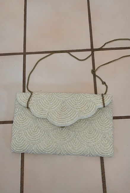 Item - Evening Ivory Beaded Shoulder Bag