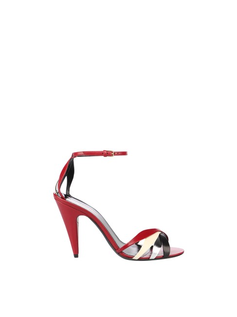 Item - Red Kristen 95 In Lamb Skin Sandals Size EU 39 (Approx. US 9) Regular (M, B)