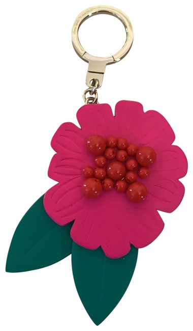 Item - Pink Green Red and Gold Key Chain By