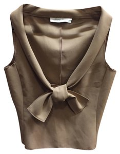 Miu Miu Crop Top Khaki