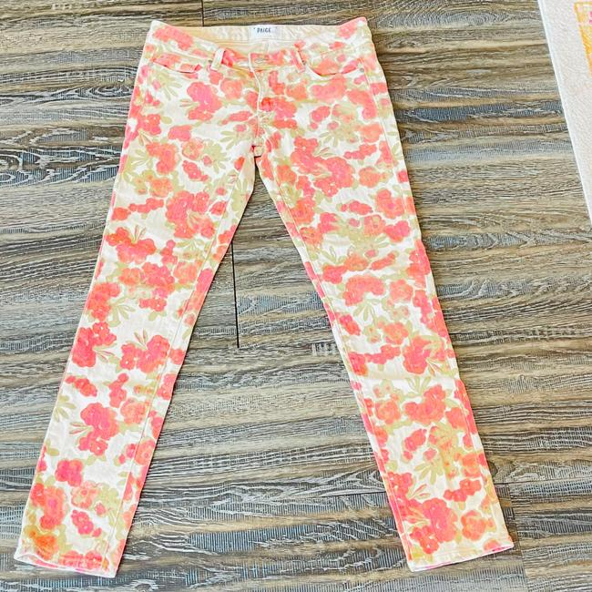 Item - Red/Olive/Coral/ Beige Women's Skyline Ankle Peg Rn# 27002 Ca#51217 Straight Leg Jeans Size 4 (S, 27)