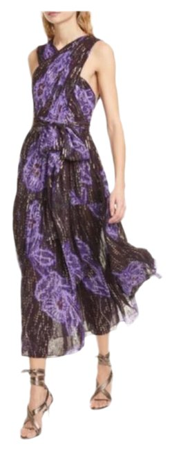 Item - Purple Rare Adora Silk In Violet Long Night Out Dress Size 4 (S)