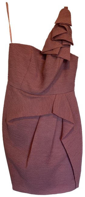 Item - Pink Audrey In Dusty Rose Short Cocktail Dress Size 4 (S)