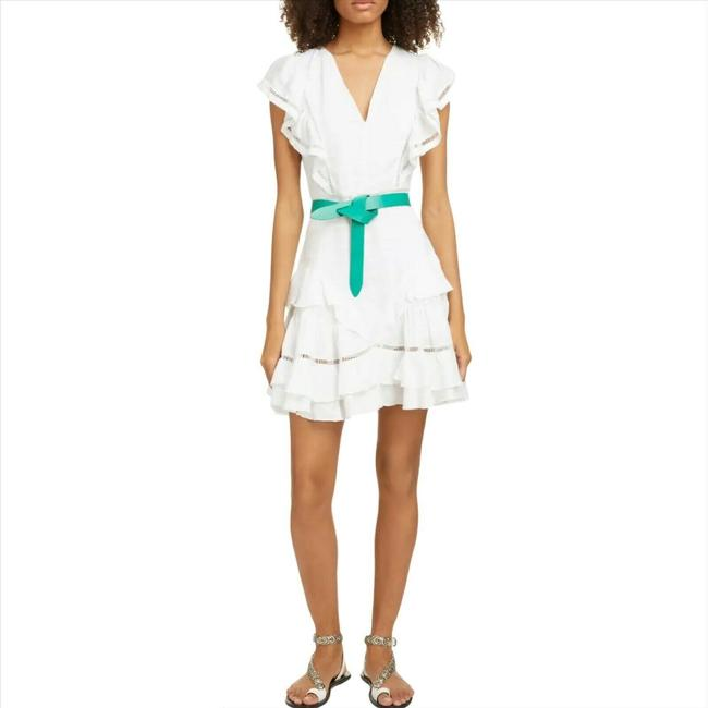 Item - White Short Casual Dress Size 2 (XS)