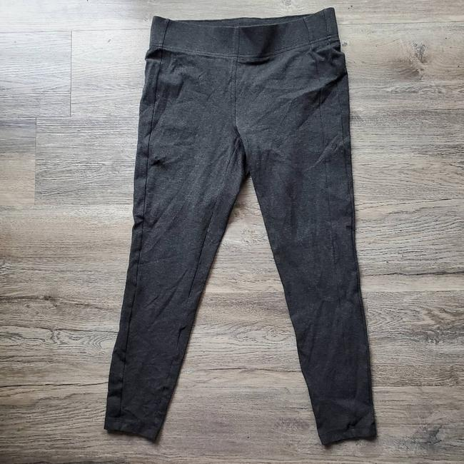Item - Gray Thick Skinny Activewear Bottoms Size 8 (M, 29, 30)