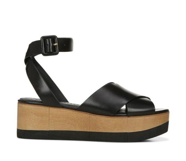 Item - Black Wynie Platform Sandals Size US 11 Regular (M, B)