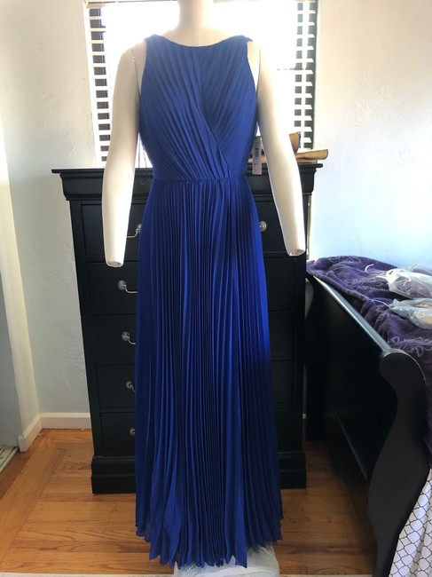 Item - Blue Cobalt Gown Long Formal Dress Size 4 (S)