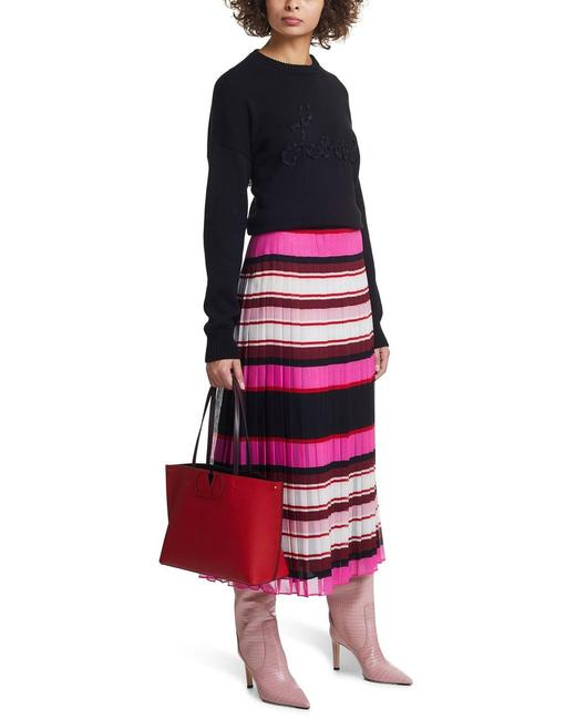 Item - Multicolor 36(0) Striped Knitted Skirt Size 0 (XS, 25)