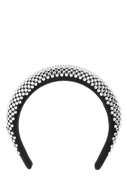Item - Black Rhinestone Embellished Headband Hair Accessory