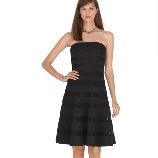 Item - Strapless Lace Cocktail Dress Size 6 (S)