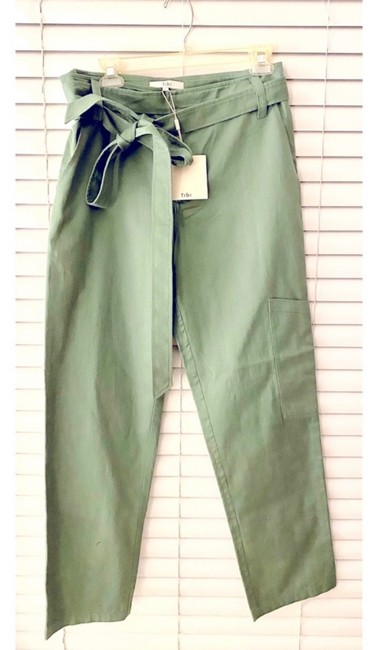 Item - Green Slouch Front Tie Cargo Pants Size 6 (S, 28)