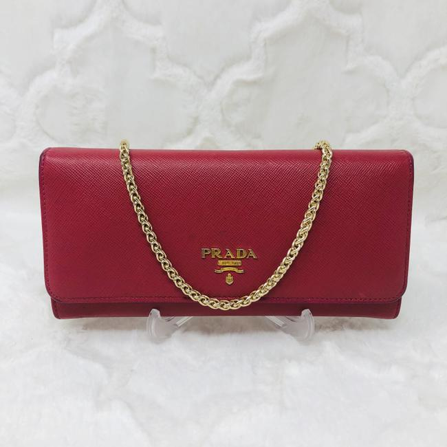 Item - Pink Double Snap Wallet