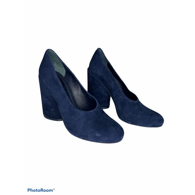 Item - Blue Lucia Suede Royal Navy New Pumps Size US 6.5 Regular (M, B)