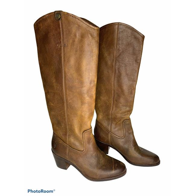Item - Brown Jolene Pull-on Knee High New Boots/Booties Size US 6 Regular (M, B)