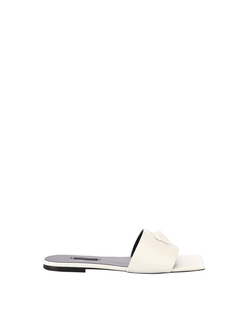 Item - White In Leather Sandals Size EU 36 (Approx. US 6) Regular (M, B)