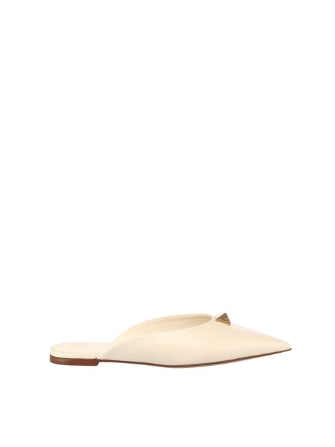 Item - Garavani Nude Roman Neutrals Stud T. 05 In Calf Leather Mules/Slides Size EU 37 (Approx. US 7) Regular (M, B)