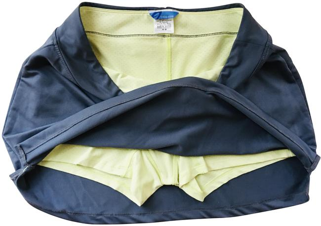 Item - Grey A-line Sportskirt with Neon Yellow Meshshorts Activewear Bottoms Size 8 (M, 29, 30)