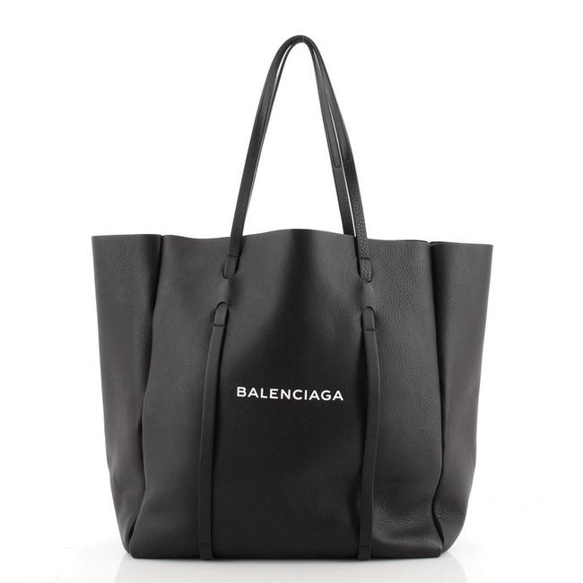Item - Everyday Small Black Leather Tote