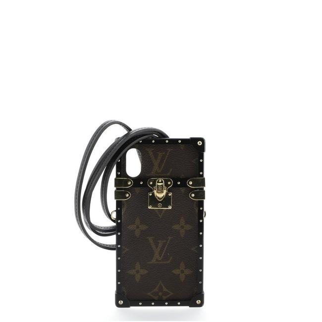 Item - Brown Eye Trunk with Strap For Iphone X Monogram Canvas Tech Accessory