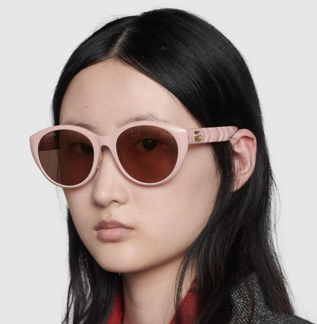 Item - Pink / Brown / Gold Marmont Gg0814sk - 005 Sunglasses