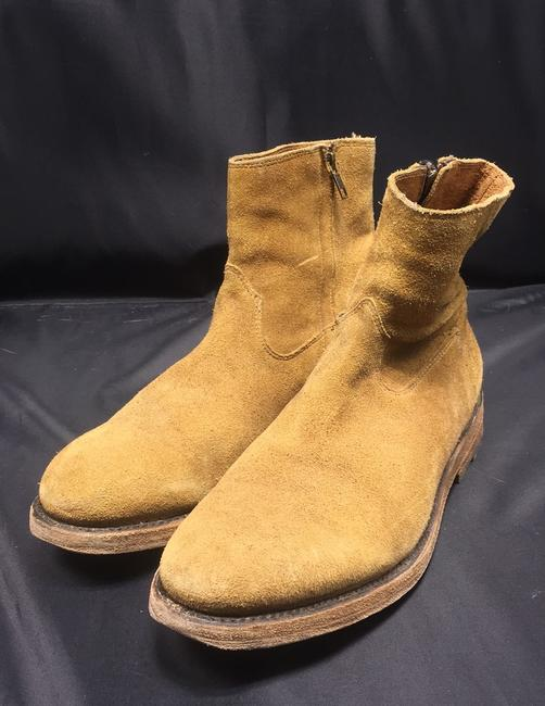 Item - Beige Distressed Oil Suede Goodyear Welt Casual Boots/Booties Size US 9 Regular (M, B)