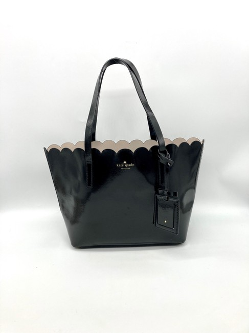Item - Lily Avenue Carrigan Black Patent Leather Tote