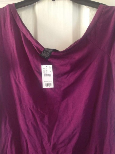 The Limited Color Like New Great Look T Shirt Dark fushia