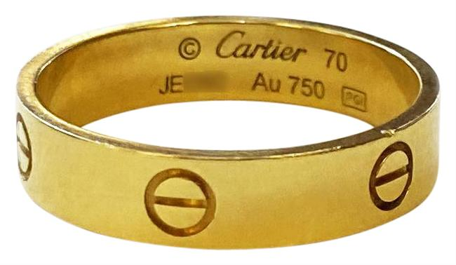 Item - Yellow Gold Love Size 70/13 Ring