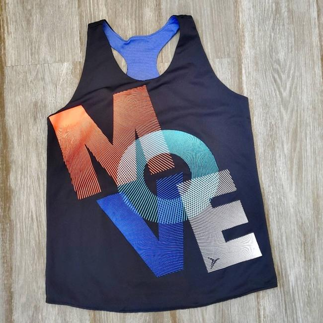Item - Blue 'move' Activewear Top Size 4 (S)