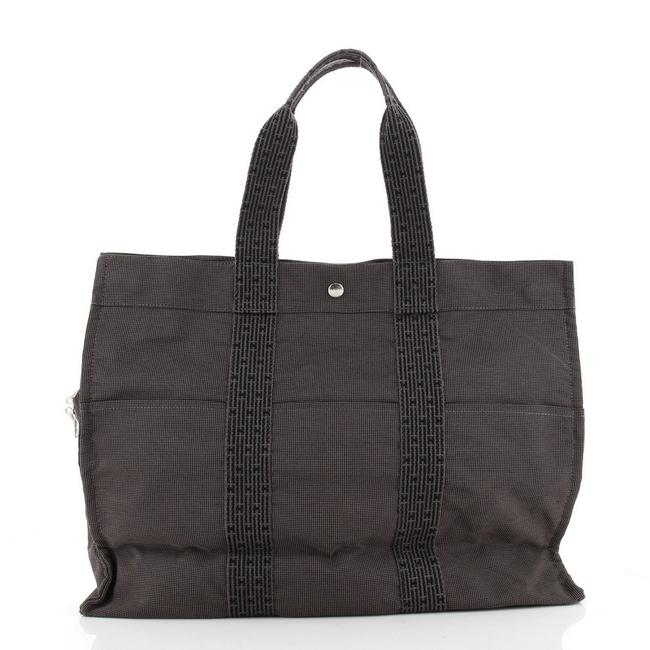 Item - Fourre Tout Gm Gray Canvas Tote