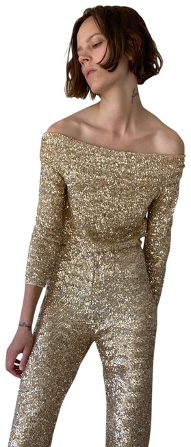 Item - New Limited Edition Sequin Large 3028/023 Gold Top