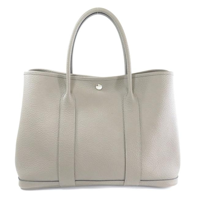 Item - Garden Party Bag Pm Glia Asphalt Ladies Gray Negonda Leather Tote