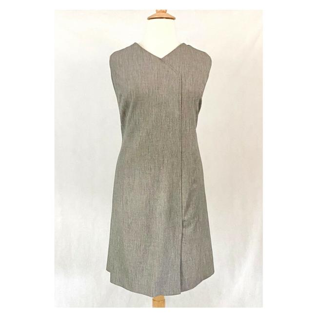 Item - Taupe Menswear Suiting Sheath Work/Office Dress Size 20 (Plus 1x)