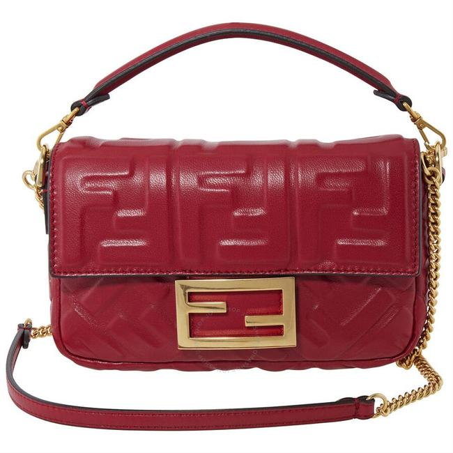 Item - Crossbody New Purse Red Leather Baguette