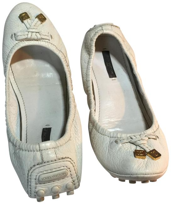 Item - Off-white Gold Loafers Italy Flats Size EU 37.5 (Approx. US 7.5) Regular (M, B)