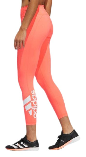 Item - Pink / Red Circuit Badge Of Sport 7/8 Activewear Bottoms Size 4 (S)