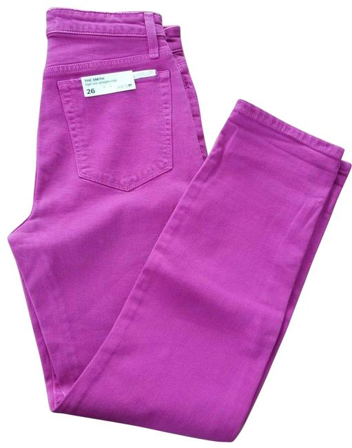 Item - Pink Distressed The Smith Hot Capri/Cropped Jeans Size 26 (2, XS)
