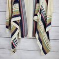 Say What? Waterfall Knit Open Front Cardigan Cream Sweater Say What? Waterfall Knit Open Front Cardigan Cream Sweater Image 5