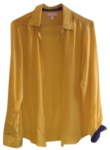 Banana Republic Button Down Shirt Yellow